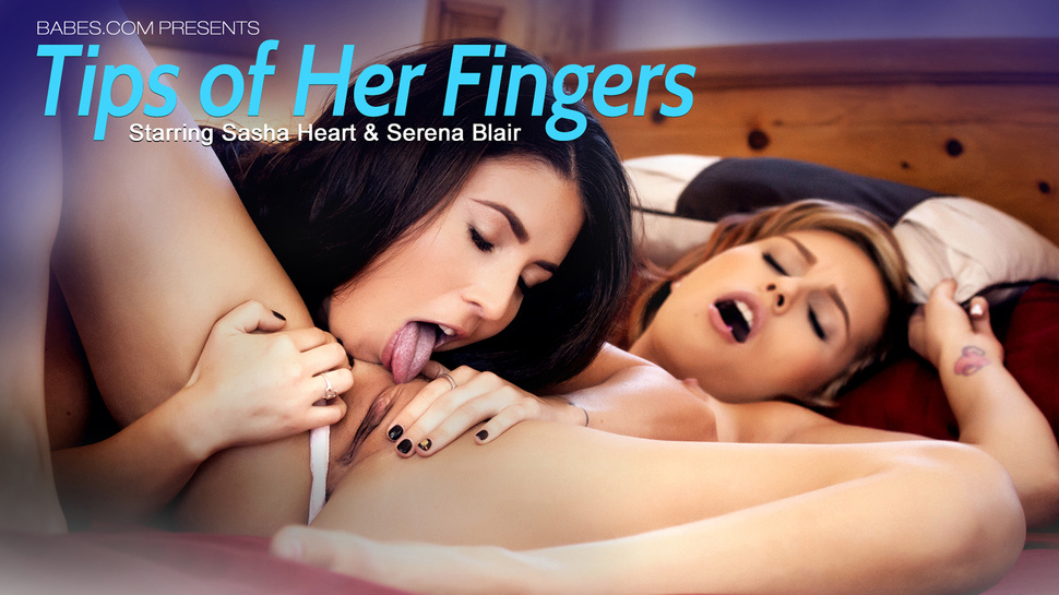 Babes tips of her fingers starring sasha heart and serena blair 4