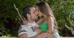 Midnight in the Garden couples porn video - Amirah Adara